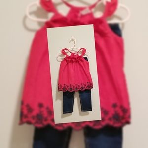Toddler top and jean